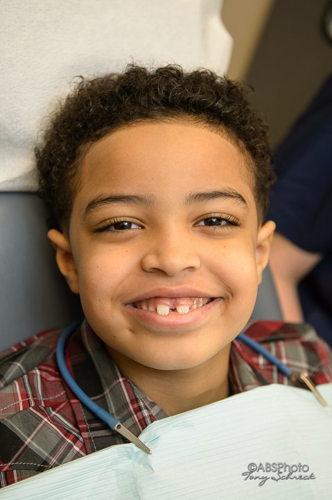shamblott child at the dentist