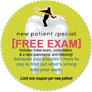Free new-patient exam, Minneapolis, hopkins Dentist